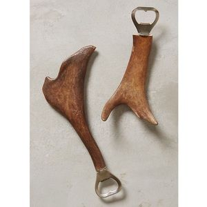 Anthropologie Horned Beauty Bottle Opener